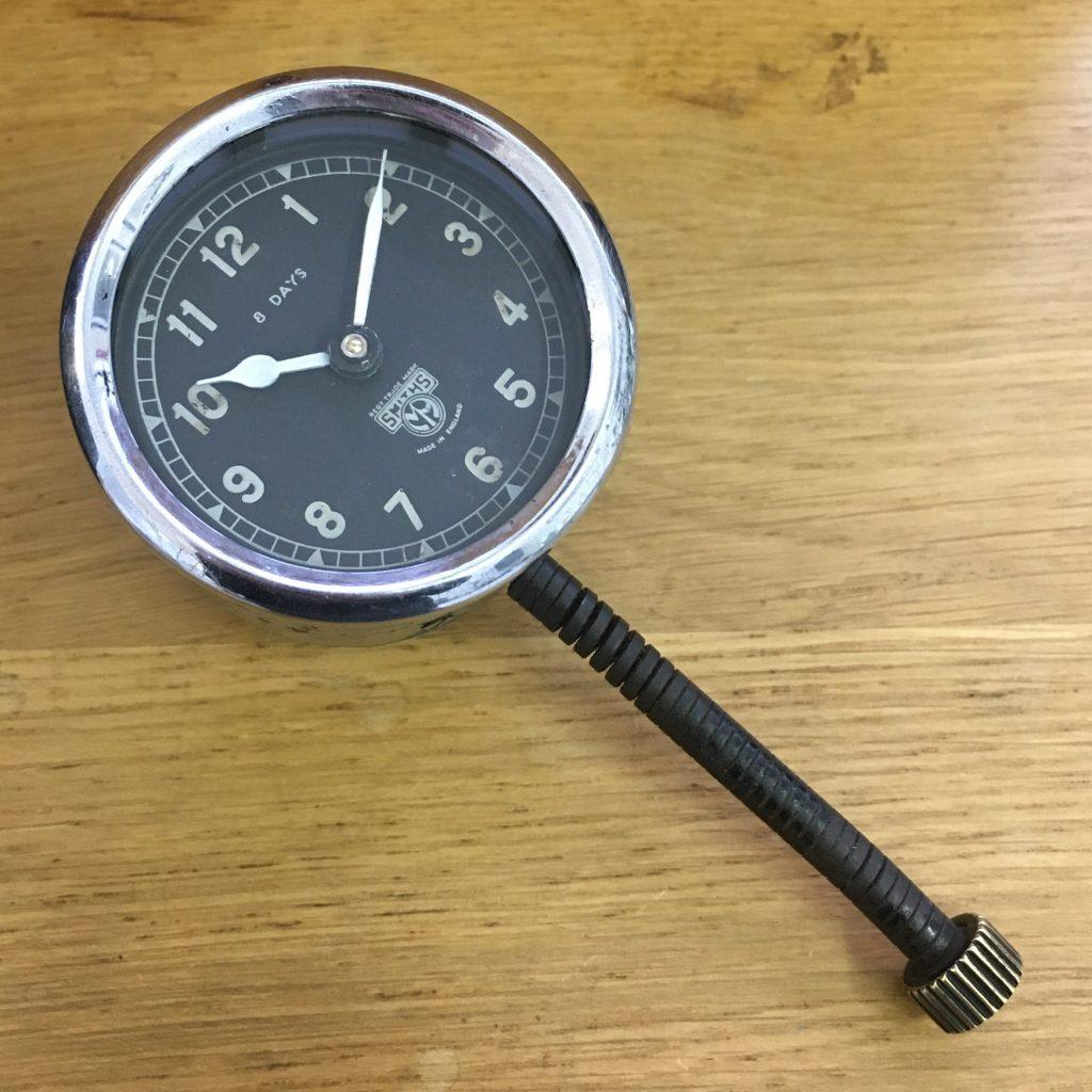 Smiths dash clock restoration