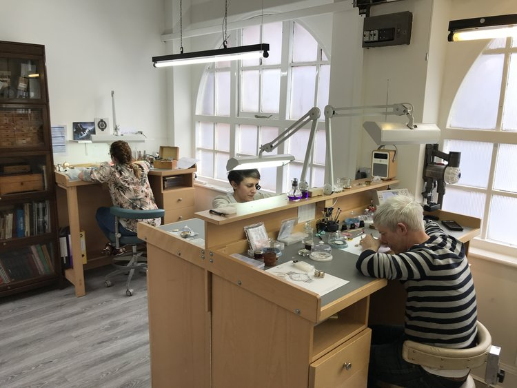 Tim Jackson at Struthers Watchmakers